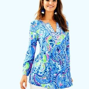 Lilly Pulitzer Tops - NWT Lilly Pulitzer Lyndsea Tunic